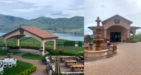 Benson Vineyards tasting room, Lake Chelan, WA