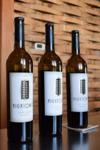 Hightower Cellars wine tasting lineup