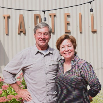 Larry and Jane Pearson, Tapteil Vineyards, Red Mountain