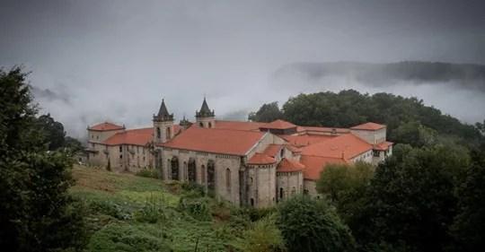monasterio de San Estevo de Ribas de Sil