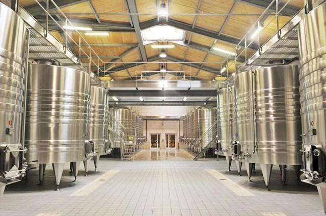 depósitos de vino de acero inoxidavle
