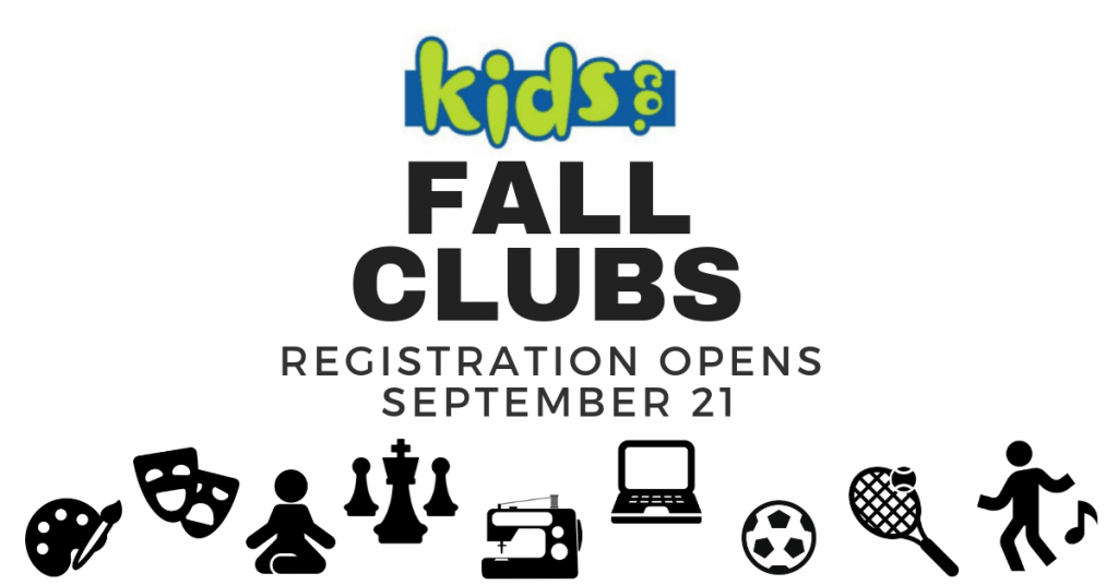 Fall 2019 KidsCo. Club Information