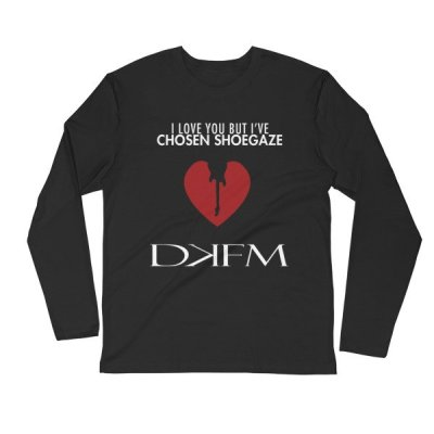 "DKFM ""Chosen Shoegaze"" Long Sleeve Fitted Crew"
