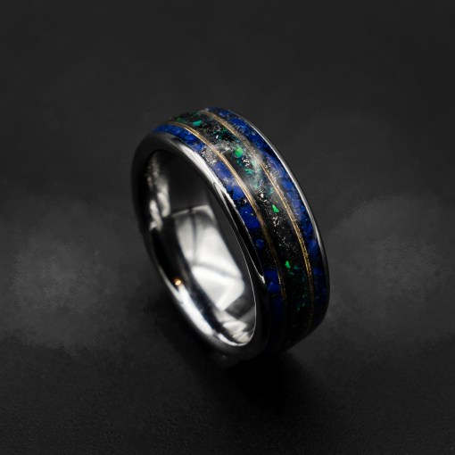 Unique Tungsten Wedding Bands & Rings | Decazi