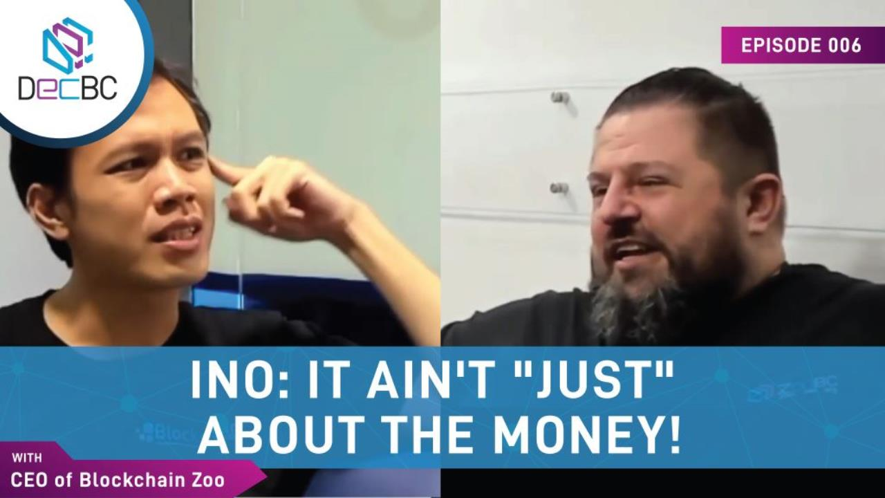 """INO: It ain't """"just"""" about the money!"""