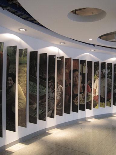 Bancama  Sala de exposiciones
