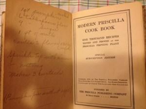 Modern Priscilla Cook Book