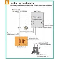 Digital Temperature Controller Circuit Diagram Cadet Heater Wiring Smartdetoxnet Fuji Pxr3 Tay1 Fw000 C