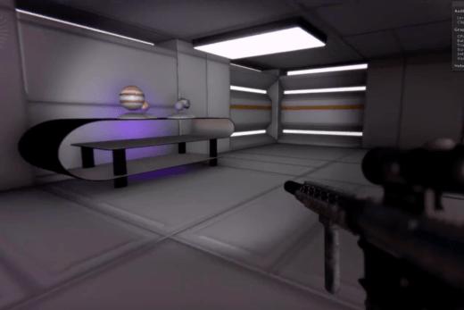 FPS game. Prototype