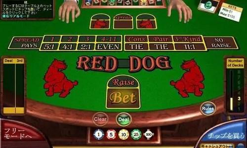 レッドドッグ初心者必見!ベラジョンカジノのレッドドッグのルール、遊び方、必勝法、楽しみ方。勝率アップの方法も解説