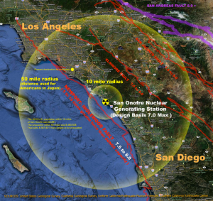 san onofre earthquake