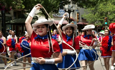 "Fiesta San Antonio: ""Battle of Flowers"" parade."