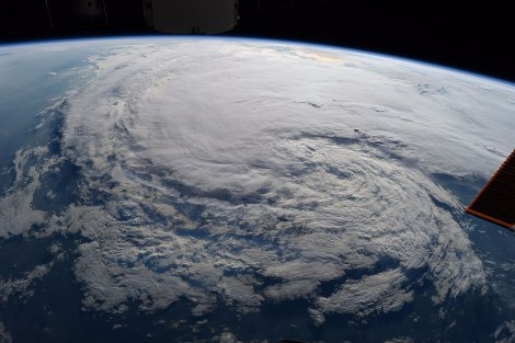 Hurricane Harvey. Image: NASA astronaut Randy Bresnik