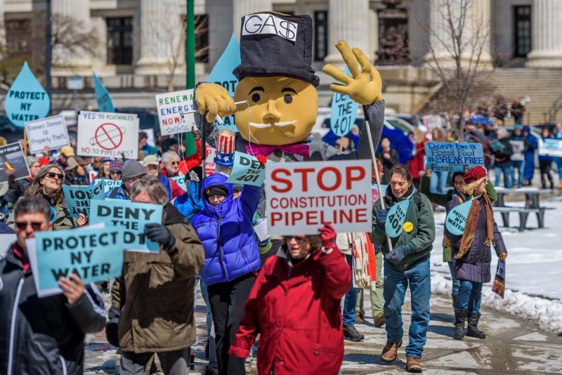 pipelines protest