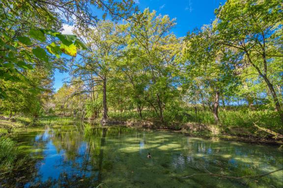 aguas residuales de texas: río sabinal