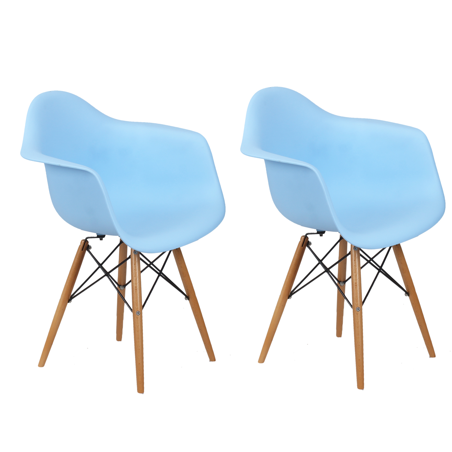 Light Blue Dining Chairs Decenthome Decenthome Light Blue Charles And Ray Eames