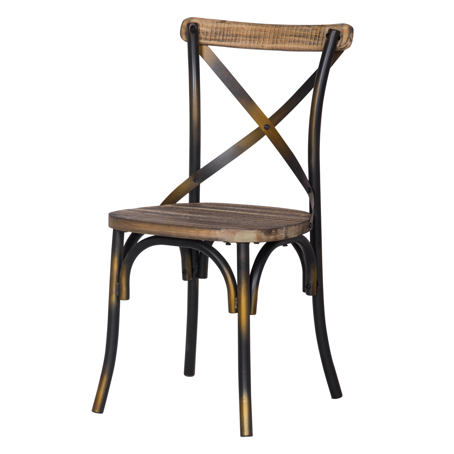 Copper Dining Chairs Decenthome Rustic Antique Copper Metal Dining Chairs Ch0282 3