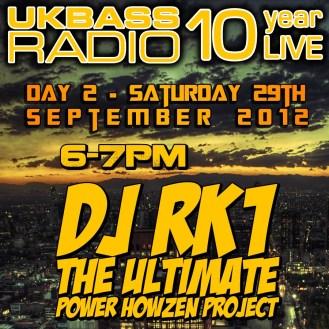 UK Bass Radio 10th Anniversary Weekend 15