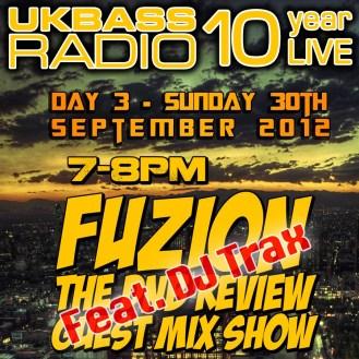 UK Bass Radio 10th Anniversary Weekend 26