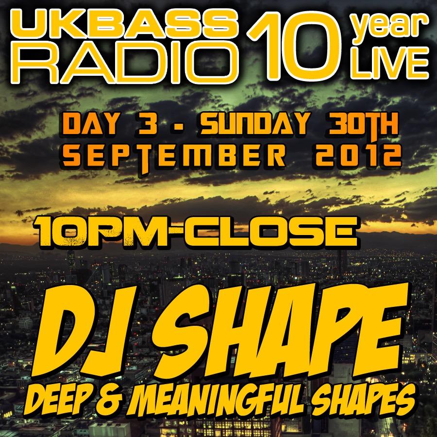 UK Bass Radio 10th Anniversary Weekend 29