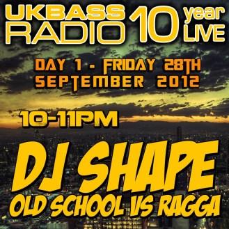 UK Bass Radio 10th Anniversary Weekend 5