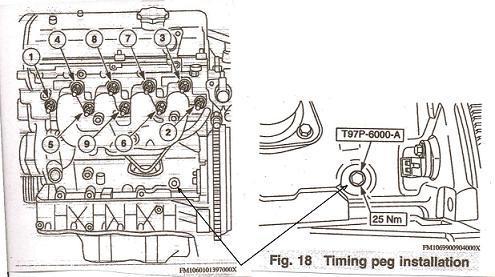 2001 Ford Focus Timing Belt Replacement Diagram
