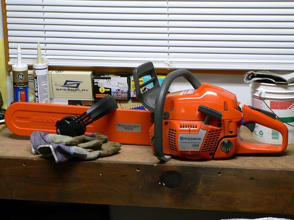 medium resolution of a temporary fix for a broken plastic drive gear for an electric chainsaw