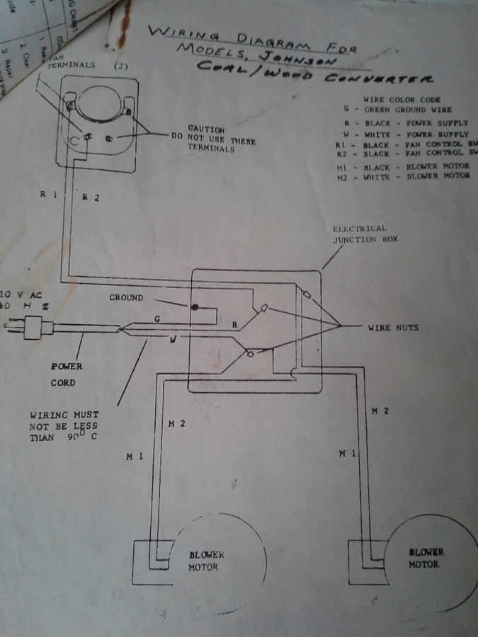 Heater Wiring Diagram Furthermore Wiring Diagram For Wood Stove Blower