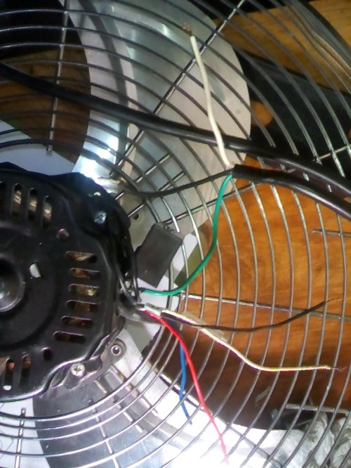small resolution of i have a optimus 18in high velocity floor fan there is no speed floor fan wiring diagram