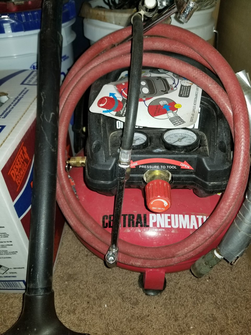 medium resolution of where is the fuse on the 3 gallon pancake compressor purchased at harbor freight
