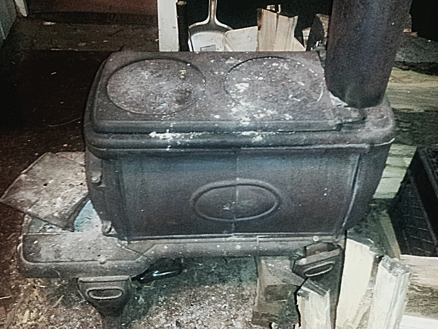 I Have An Old Wood Burning Cast Iron Box Stove It Was Made From The Atlanta  DIY Forums