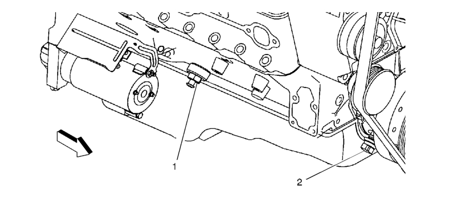 Where Is The Crankshaft Position Sensor On A 1998 Chevy