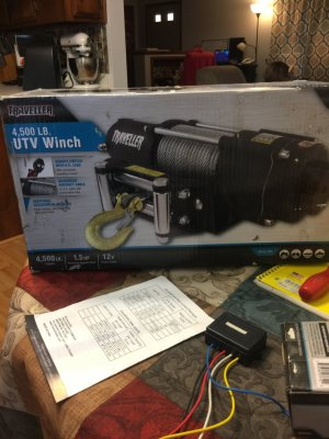 I Have A Traveller 4500 Lb Winch Model # 1078311 And Need