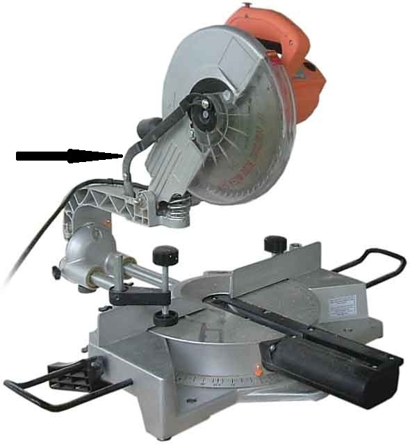 Chicago Electric 10 Compound Miter Saw Replacement Parts