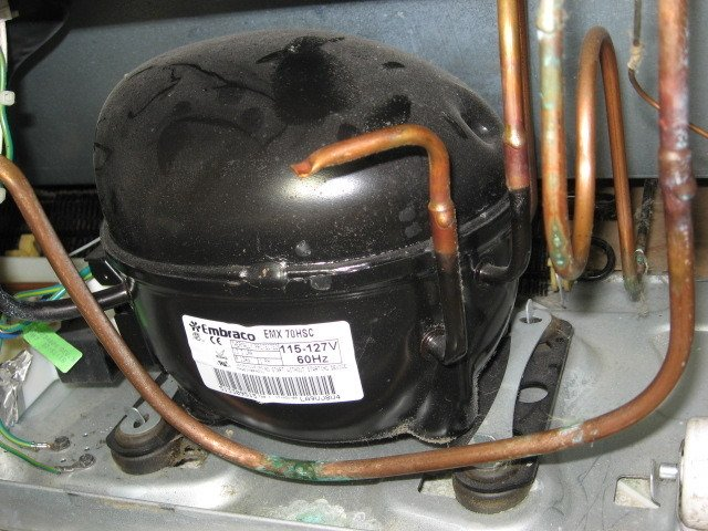 5 Wire Relay Wiring Diagram Compressor My Amana Bottom Freezer Fridge Is Leaking Water Onto The