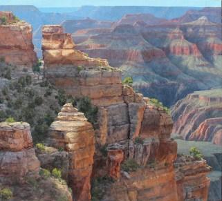Yaki Point Grand Canyon 48x43