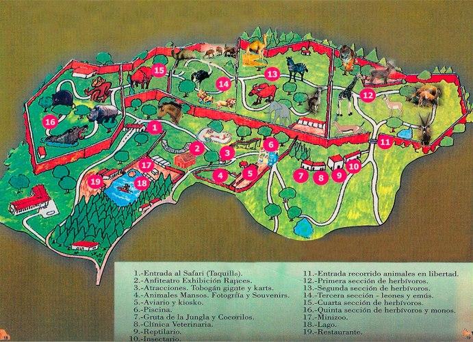 safari park recorrido www.decharcoencharco.com