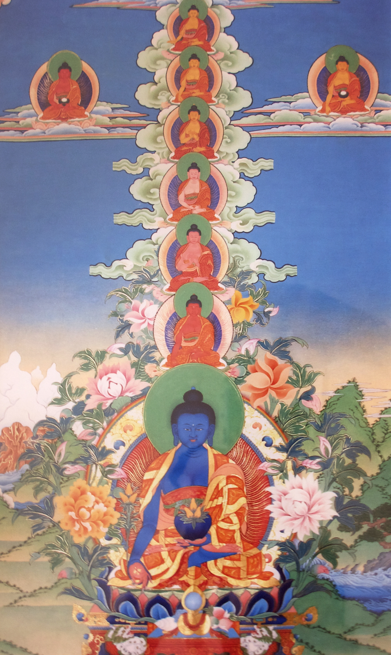 The Concise Sadhana of Medicine Guru Principal and Retinue  Dechen Ling PressDechen Ling Press