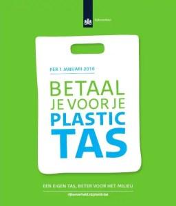 Geen plastic tasjes | De Chinese Muur Leiderdorp