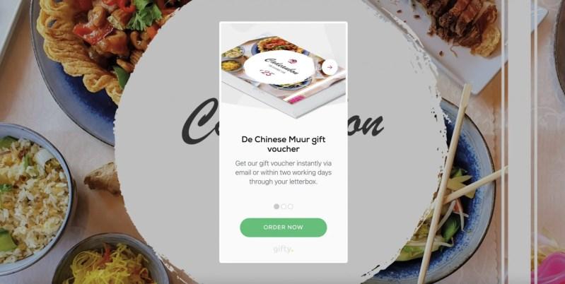 Cadeaubon De Chinese Muur