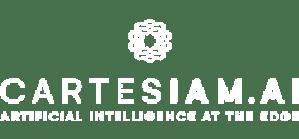 Cartesiam AI logo in white