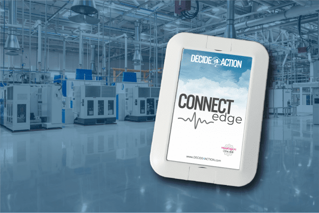 Connect Edge box with factory backdrop