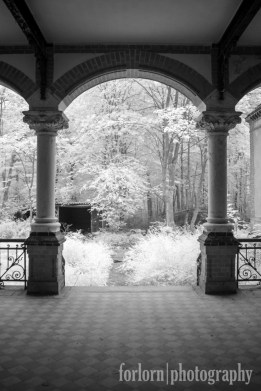 Men's Sanatorium. Camera: Canon Rebel XT converted to Infrared