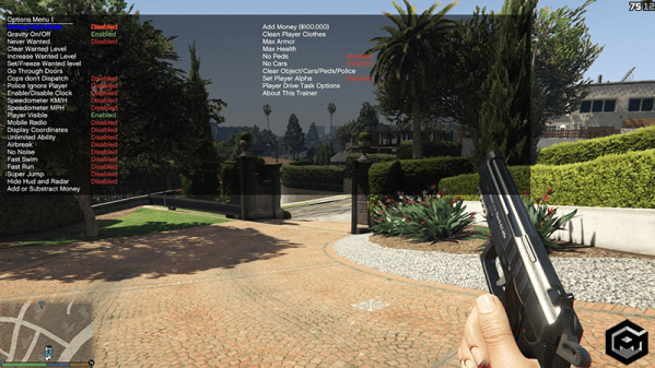 mod menu for GTA 5