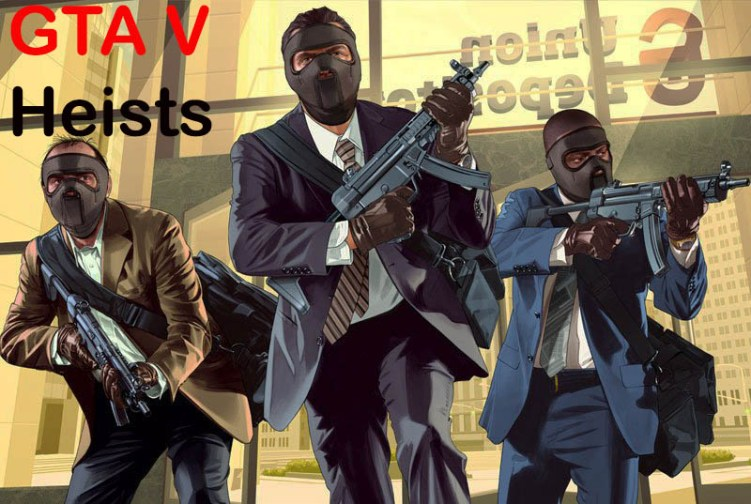 the big score GTA 5 Heist