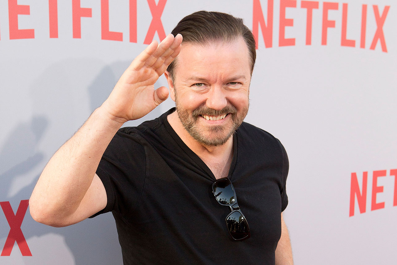 Ricky Gervais – RT's Dinner and the Movies Interview ... |Ricky Gervais Movies