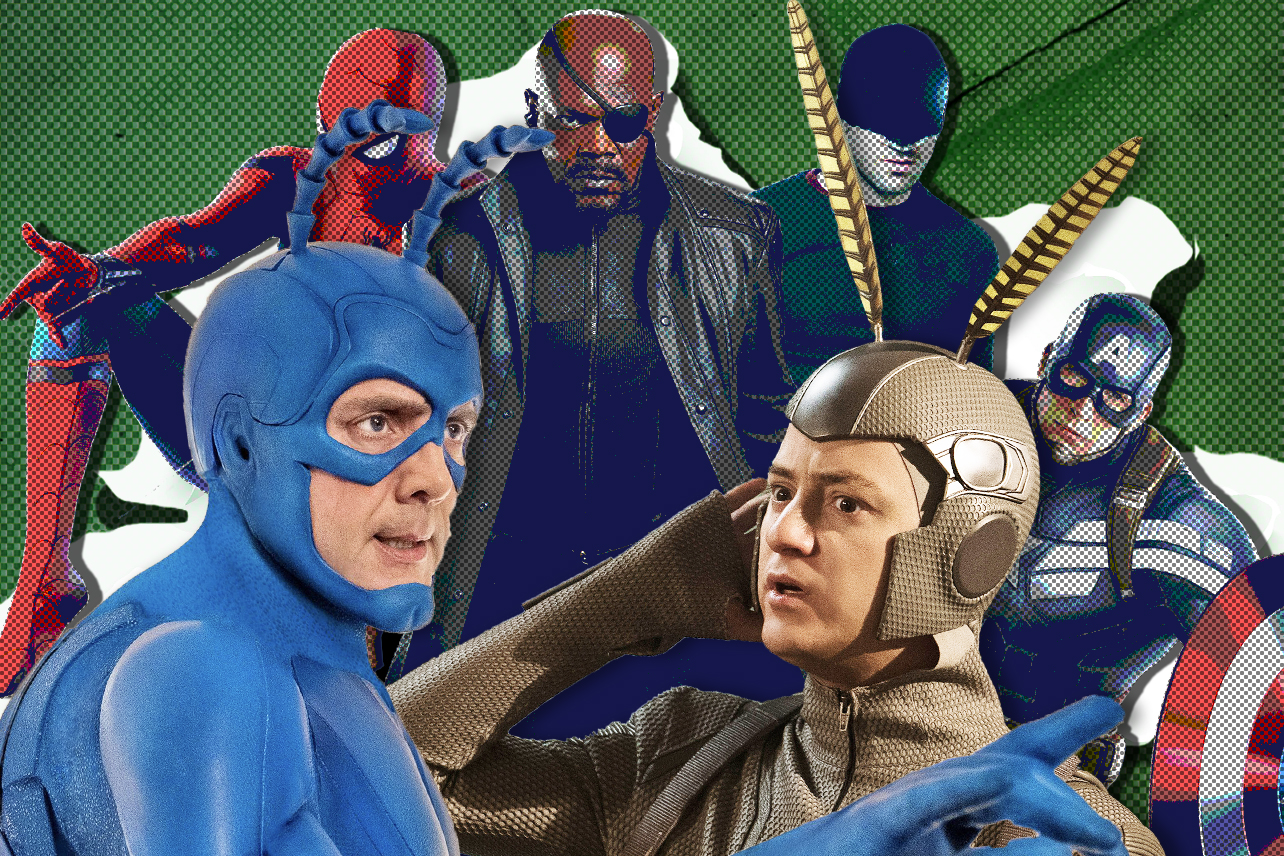 The Tick Season 2 Ben Edlund Details The Prime Video Show S Marvel Ous Influences