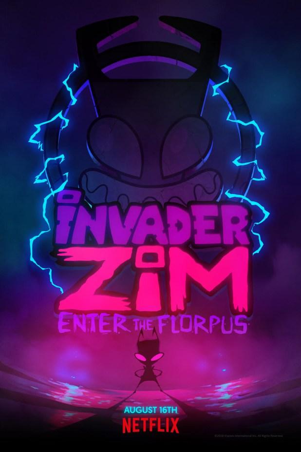 Hulu Invader Zim : invader, Invader, Enter, Florpus, Doomed, These, First, Photos
