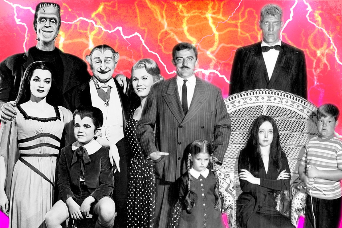 'The Addams Family' and 'The Munsters': Which Came First?