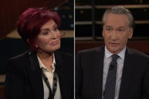 """Sharon Osbourne tells Bill Maher that she is """"angry and hurt"""" after leaving """"Conversation"""""""